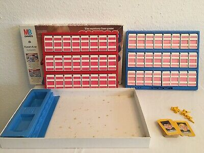 MB Games Guess  Who 1987 Board Game Complete