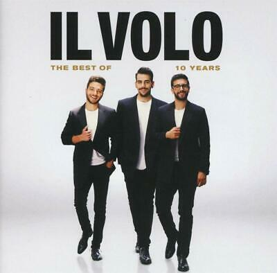 Il Volo The Best Of 10 Years CD Musicali Nuovo Sigillato Raccolta Successi