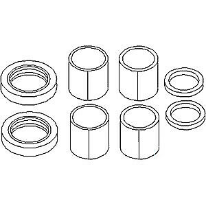 Tractor Spindle Bushing & Bearing Kit For Ford 2610 2810 2910 3610 3910 3cyl