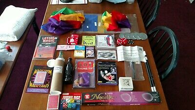 Magic Tricks Lot $400 Value New!