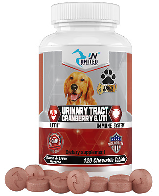 United Nutritionals Cranberry for Dogs, Urinary Tract and UTI Support, Bladder..