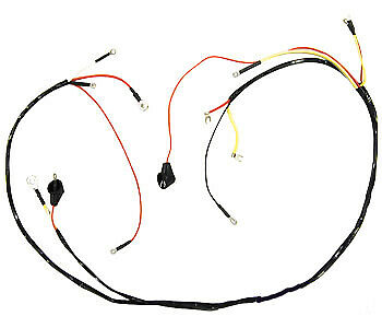 6 Volt Wiring Harness 8N14401C for Ford NH 8N Tractor w/ Side Mount Distributor