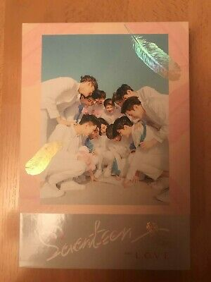 Seventeen - First Love and Letter vers. Love - FULL ALBUM