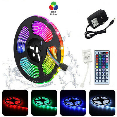 LED Strip Lights 1M-5M USB Changing TV Backlight 5050 RGB Colour Remote Control