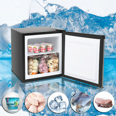 1.1 Cubic Feet Free Standing Upright Freezer Reversible Stainless Steel Door US