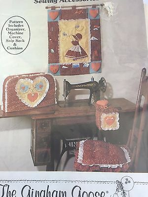 1982 Sweet Sues Sew & Sew Sewing Accessories Pattern Cushion Machine Cover 1863F