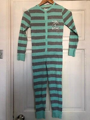 Girls  Cotton All In One Sleepsuit Pyamas Primark Age 7-8 Years
