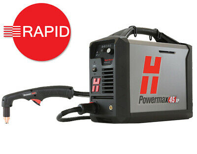 Hypertherm Powermax 45XP Plasma Cutter with 6.1m Hand Torch - 230v CE/CCC