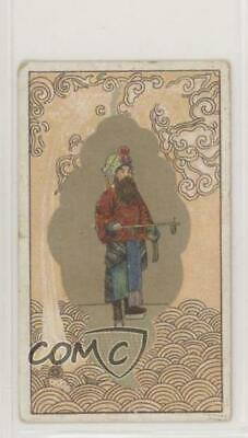 1910s Wills Pirate Cigarettes Chinese Subjects Tobacco Man with Beard 1qa