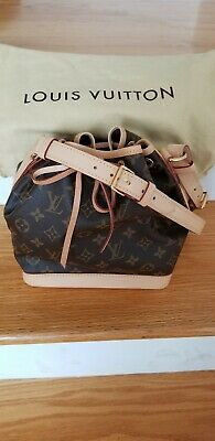Authentic Louis Vuitton Monogram Noe BB DRAWSTRING BAG MINT CONDITION