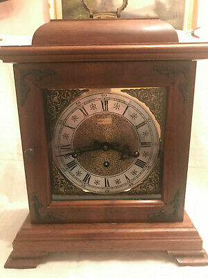 Vintage Hamilton Mantle Clock - Key Wind 8 Hammer Chimes,  German Movement