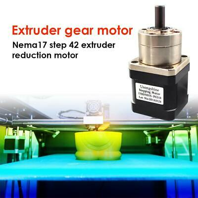 Gearbox Stepper Motor 17HS4401S-PG518 Nema17 Gear DIY CNC Robot 3D Printer