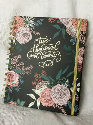 Paper Source 2020🎄Rose Floral 12 Month Planner NEW Winter Box FabFitFun