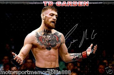 CONOR McGREGOR UFC MMA SIGNED 6x4 PHOTO PRINT AUTOGRAPH