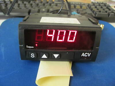 SIMPSON ELECTRIC  Digital Panel Meter,AC Voltage,INPUT 690VAC WITH RELAY