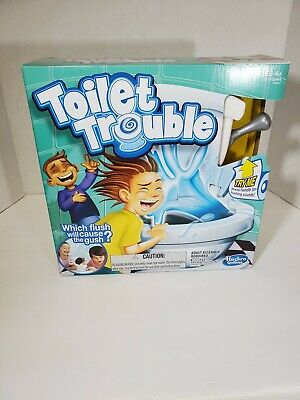 Hasbro Games Toilet Trouble New in box. Kids Game board game