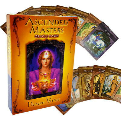 Ascended Masters Oracle Cards Doreen Virtue Card Deck 44 Full Color Card Deck