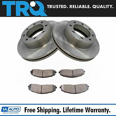 Nakamoto Disc Brake Pad Set Kit Semi Metallic Front for 05-08 Ford F250SD F350SD