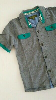 Baker by Ted Baker Boys Striped Polo Shirt Age 4-5 years