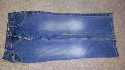 Adjustable blue jeans 8 year old