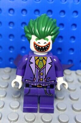 LEGO - BATMAN MOVIE DC Comic The Joker Mini Figure - FREE P&P