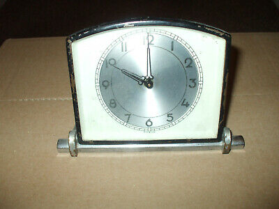 small  mantle clock  working spares or repair