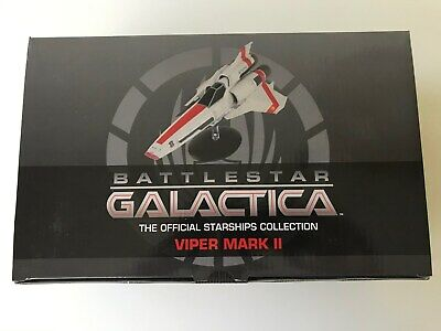 Eaglemoss Battlestar Galactica Colonial Viper Mark II Starbuck EMBSG01 NEW!!!