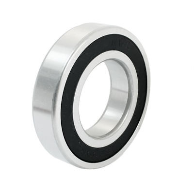H● 45mm x 85mm x 19mm Chrome Steel Sealed Deep Groove Ball Bearing 6209-2RS