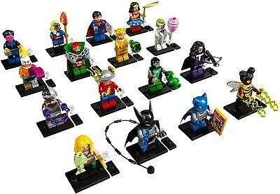 LEGO 71026 DC Super Heroes Minifigures Series Complete set of 16 SEALED IN HAND