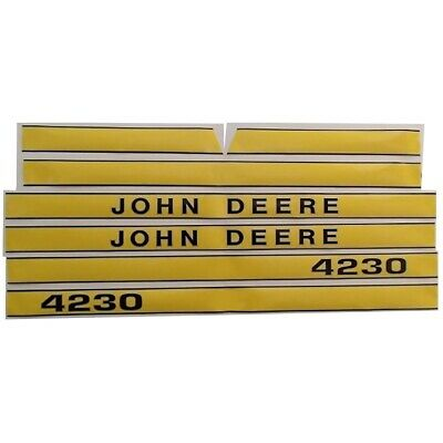 JD4230 Hood Decal Set Made for John Deere Tractor 4230 JD Tractors