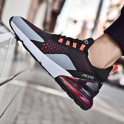 Big Size Mens Mesh Running Shoes Athletic Sneakers Air Cushion Lightweight Shoes