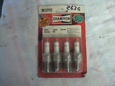4 CHAMPION N12YC SPARK PLUGS MG Midget 1500 1975-80