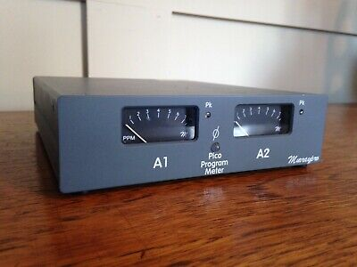 Murrypro Pico Stereo PPM. Industry Standard Stereo PPM Audio Broadcast Grey
