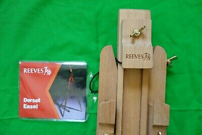 Reeves Dorset Easel - It has never been used.The peg on one leg is missing.