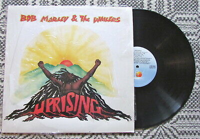 Bob Marley & The Wailers Uprising vinyl LP in shrink VG++