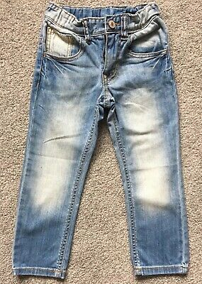 United Colors Of Benetton Boys Jeans Size XXS Age 3-4 Years Worn Once