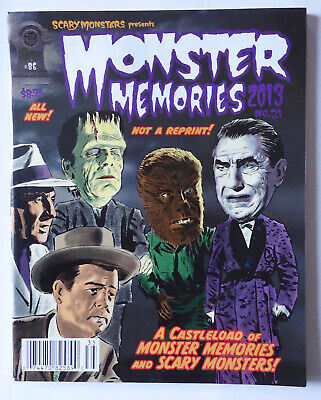 Scary Monsters presents MONSTER MEMORIES #21 2013 Movie Magazine Horror Movies