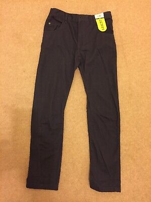 BNWT, Boys Navy Skinny Fit Trousers, 8-9years