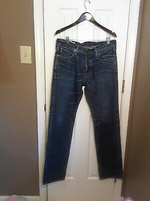 Nwot 32X34 Abercrombie Fitch Mens Jeans Remsen Low Rise Slim Straight