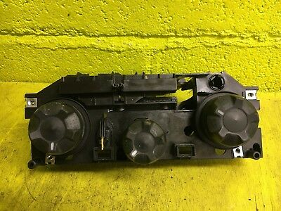 #5851 2007 Iveco Daily 35S12 MWB FRONT Heater Control Switch Panel 112542000