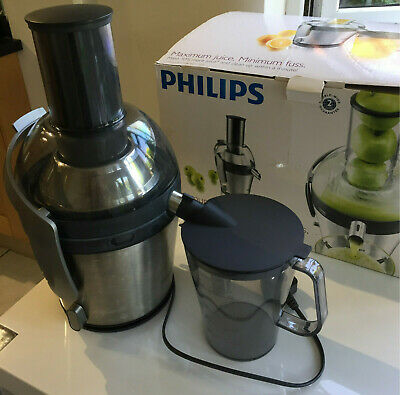 Centrifugeuse Philips Avance Juicer HR1871 800W Stainless Steel