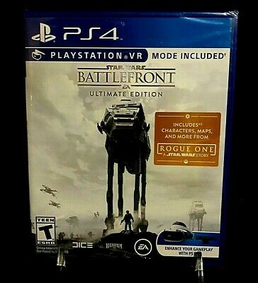 BRAND NEW SEALED Star Wars Battlefront Ultimate Edition PS4 PERFECT CONDITION!