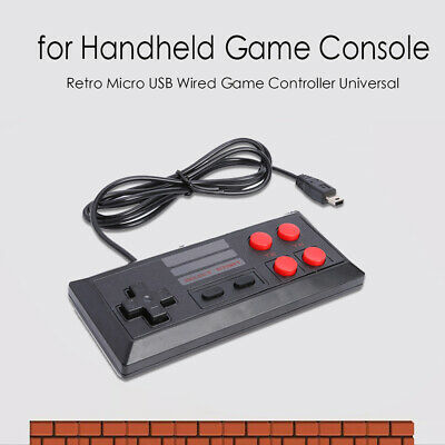 Classic Handheld GameController Console Player Micro USB Wired Gamepad Universal