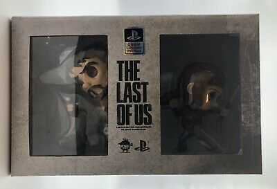 The Last of Us Joel and Ellie Limited Edition Vinyl Figure Set Official Licensed