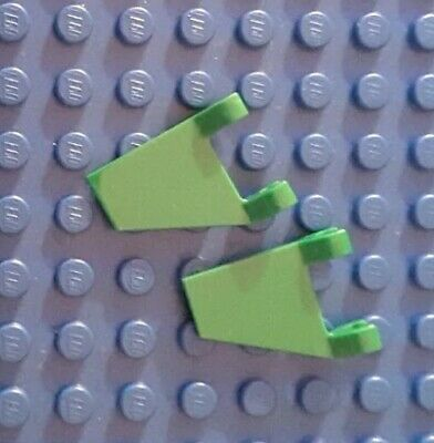 Banner Flag 2x2 Clips New New Green, Green 4 x lego 44676 Flag Swing