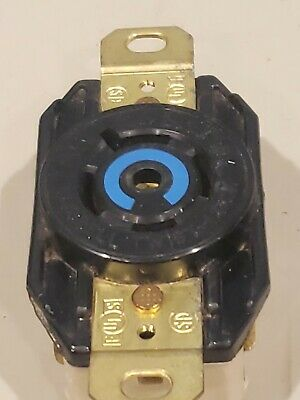 Hubbell  Twist-Lock Receptacle 3-Pole 4-Wire Locking 20A 3Ph 120/208V
