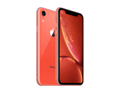 Apple iPhone XR 64GB Coral Fully Unlocked (GSM / CDMA) Smartphone