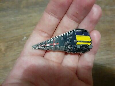 Gner Class 91 Hard Enamel Train Badge