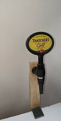 Thatchers Gold Beer Pump Or Tbar Tap And Handle
