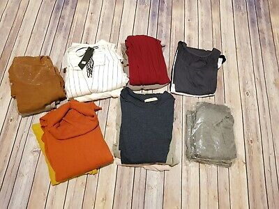 NEW Job Lot 16x Womens Clothing Bundle Tops Dress Jumpers One Size Maternity?